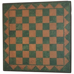 Geometric Hand Crafted Game Board