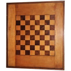 Inlaid Game Board, Oversize C. 1930