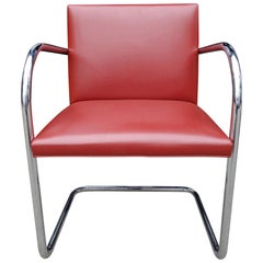 Set of Four Midcentury Knoll Brno Chairs by Mies van der Rohe