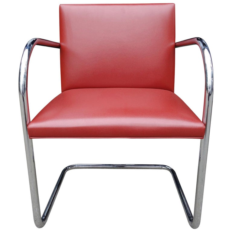 Set of Four Midcentury Knoll Brno Chairs by Mies van der Rohe For Sale