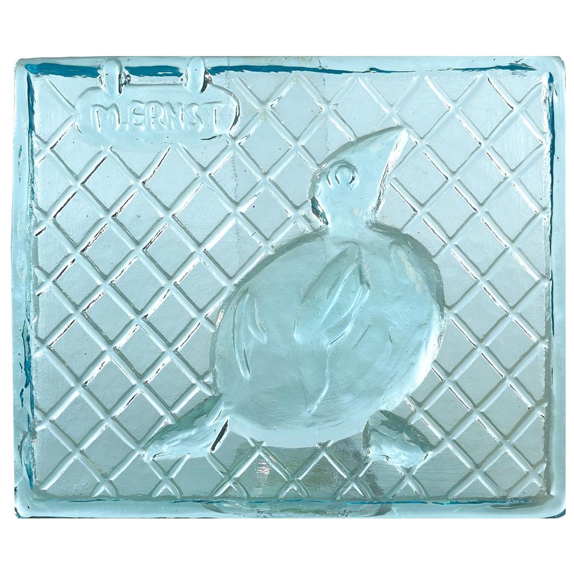 Max Ernst & Egidio Costantini for Fucina Degli Angeli Glass Tile
