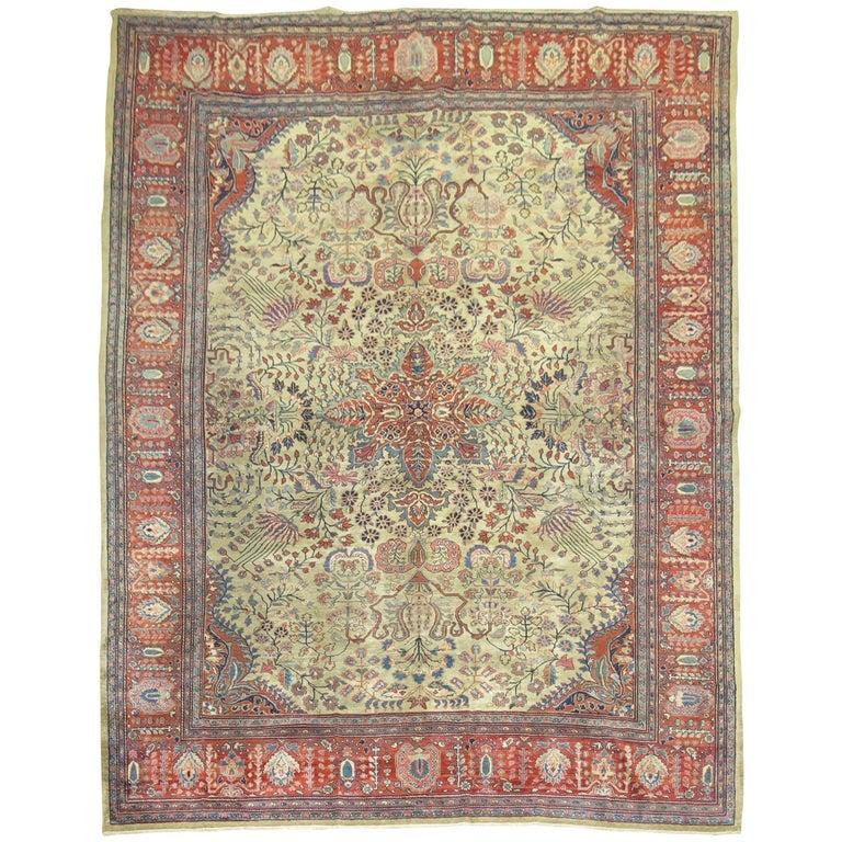 Persian Sarouk Fereghan Rug For Sale