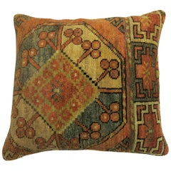 Tribal Ersari Rug Pillow