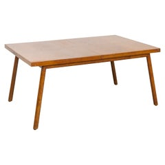 Midcentury T.H. Robsjohn-Gibbings for Widdicomb Walnut Dining Table, 1950s