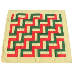 Streak of Lighting Crib Quilt