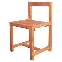 Ate Van Apeldoorn Pinewood Chair for Houtwerk Hattem