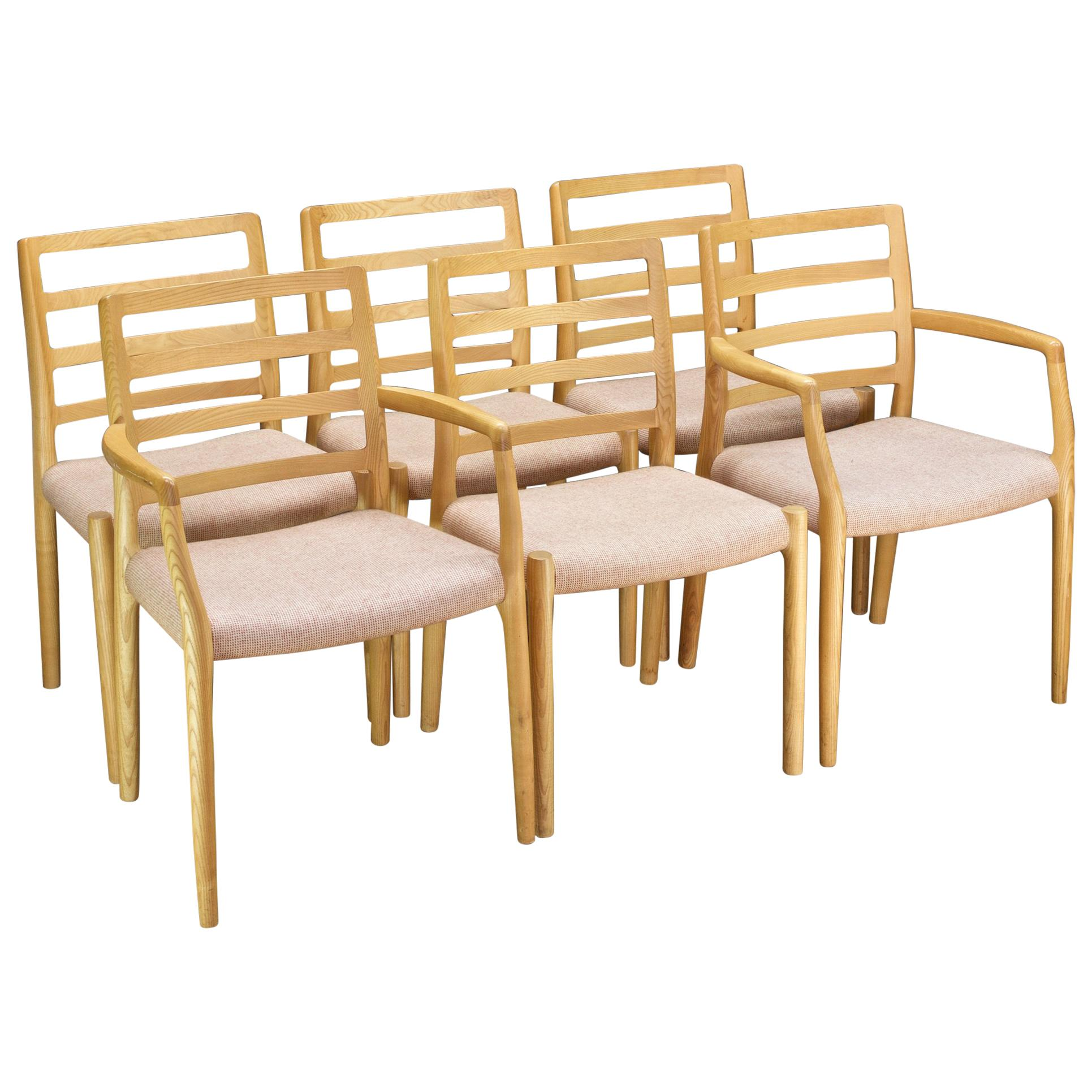 Scandinavian Vanilla Blonde Dining Chair Danish MidCentury Cabinmodern Farmhouse
