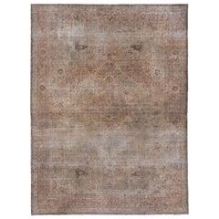 Antique Sivas Carpet, Tabriz Style, circa 1930s