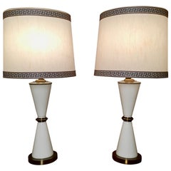 Hourglass Shaped Table Lamps