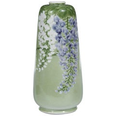Japanese Porcelain Vase by Makuzu Kozan Meiji Era