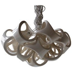 Ceramic Lamp 15 Wide Cluster Chandelier