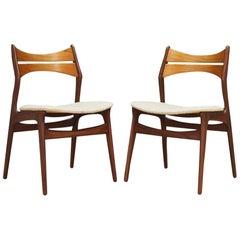 Erik Buch Chairs Danish Design Classic Retro