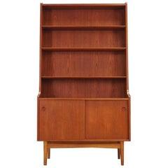 Johannes Sorth Retro Bookcase Teak Vintage