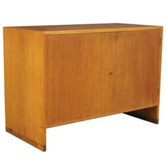 Hans J. Wegner Cabinet, Oak and Teak. Made by Ry Møbler Denmark, 1960s