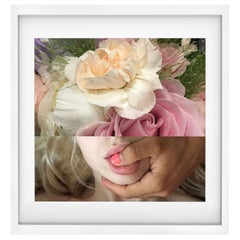 "Flower Woman Portrait Naropinosa, ""Untitled"" Digital Collage, Spain, 2019"