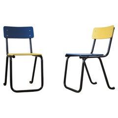 Refurbished Midcentury Nursery School Chairs