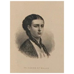 Proof of an American Bank Note Princess of Wales, No. 218, circa 1870