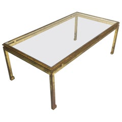 Maison Ramsay French Gilded Coffee Table, 1960s
