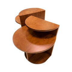 """Café"" Side Table Solid Wood by Noemi Saga Atelier Brazilian Contemporary Design"