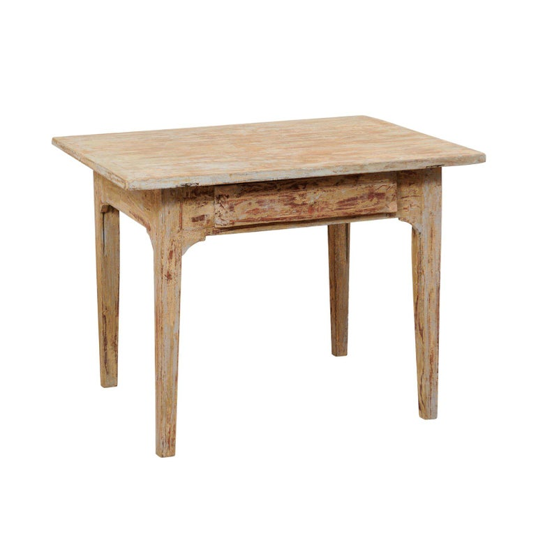 Swedish Gustavian Table, 19th Century For Sale