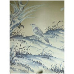 "De Gournay Wallpaper Del 1976 ""Earlham"" Chinoiserie, Sequence of Panels nr20+21"