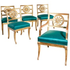 Neoclassical Chairs, Berlin First Half of the 19th Century