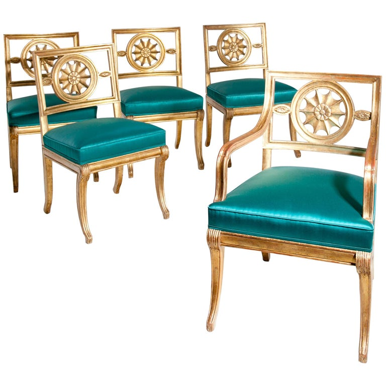 Neoclassical Chairs, Berlin First Half of the 19th Century For Sale