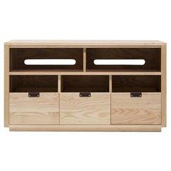 Dovetail Vinyl Storage Cabinet 3 x 1.5 with Equipment Shelf