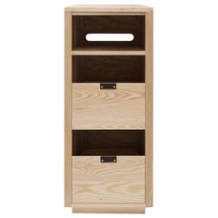 Dovetail Vinyl Storage Cabinet 1 x 2.5 with Equipment Shelf