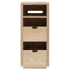 Dovetail Vinyl Storage Cabinet 1 x 2.5 with Equipment Shelf