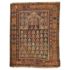 Antique Marasali Shirvan Prayer Rug, circa 1880