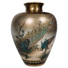 Kinkozan Satsuma Vase, Meiji Period