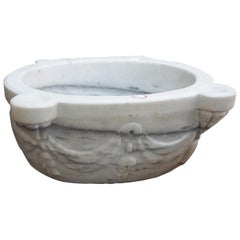 Antique Marble Sink, circa 1850