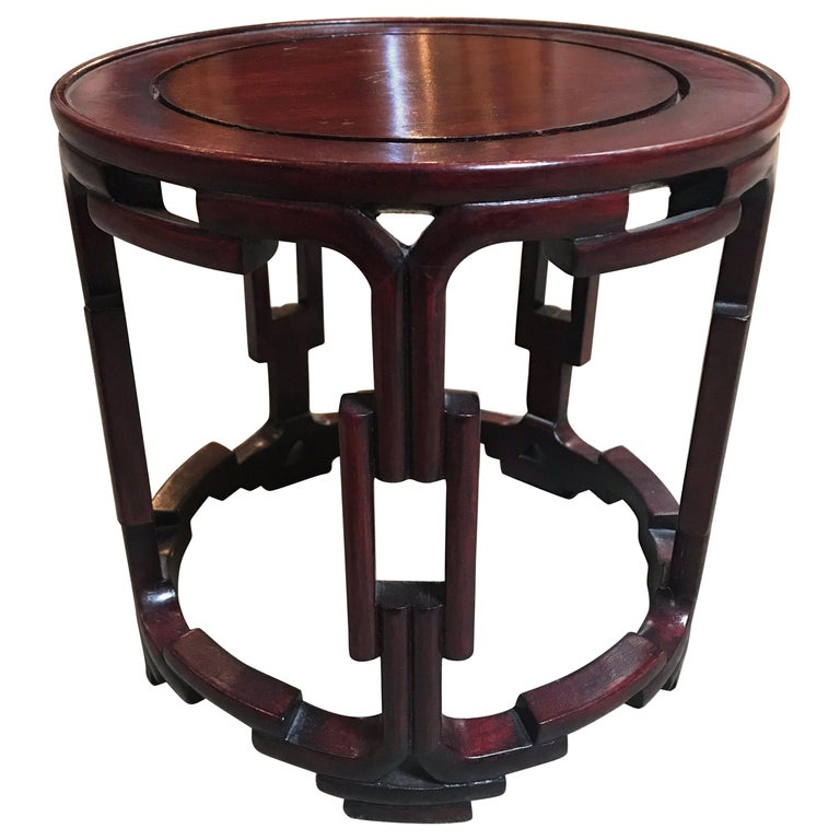 Chinese Rosewood Table Stand For Sale