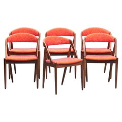Kai Kristiansen mid-century modern Rosewood Dining Chairs, nº 31, Set of Six