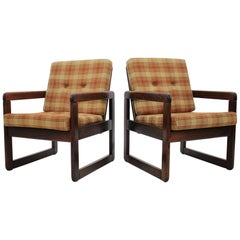 Midcentury Lounge Chair, Czechoslovakia, 1970s