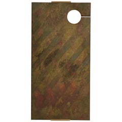 Patinated Bronze Wall Hung Art