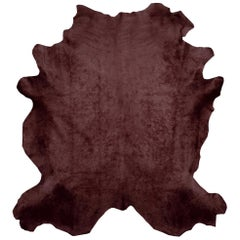 Chocolate Brown Cowhide Rug