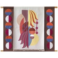 Brazilian Contemporary Tapestry by Naia Ceschin by Naia Ceschin