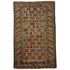 Antique Shirvan Caucasian Rug, circa 1900