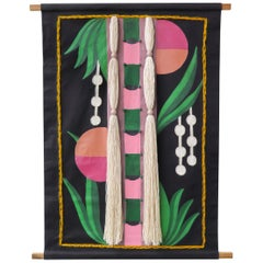 Brazilian Contemporary Tapestry by Naia Ceschin