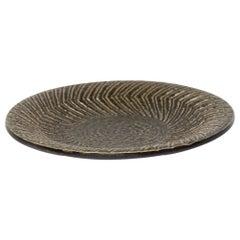 Midcentury Swedish Modern Mari Simmulson for Upsala-Ekeby Ceramic Plate