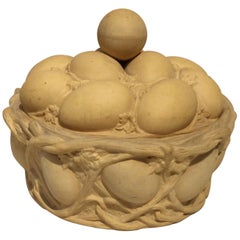 Caneware Egg Basket Tureen