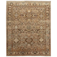 Antique Sultanabad Rug, Hand Knotted Wool