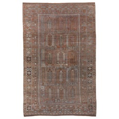Antique Tribal Belouch Carpet, circa 1900s
