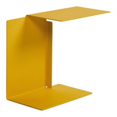 ClassiCon Diana A Side Table in Honey Yellow by Konstantin Grcic