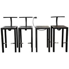 4 Philippe Starck Sarapis Bar Stools for Aleph Ubik