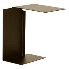 ClassiCon Diana B Side Table in Bronze Brown by Konstantin Grcic