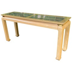 Ming Asian Console Table by Bernhardt