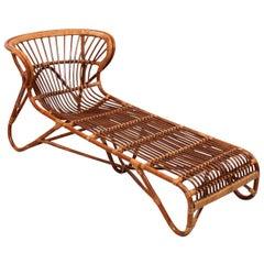 Franco Albini Bamboo Chaise Lounge